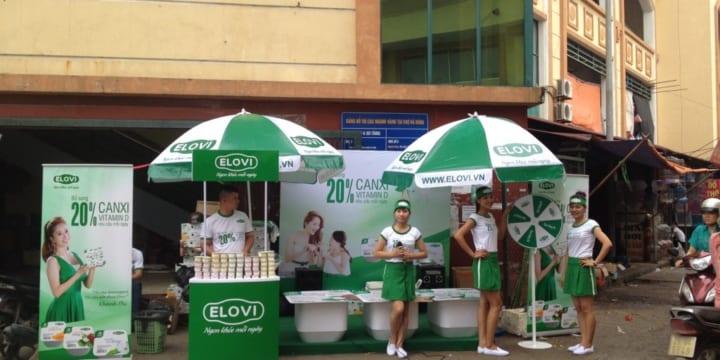 Công ty tổ chức sự kiện sampling chuyên nghiệp tại Thái Nguyên