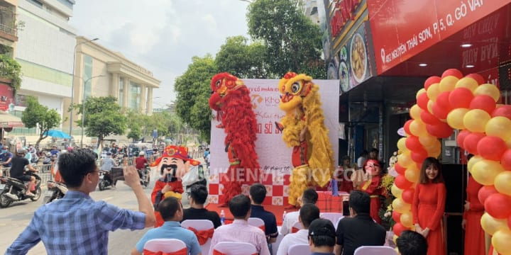 Khai trương | Công ty tổ chức lễ khai trương tại Hải Phòng