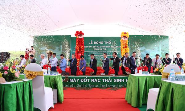 Công ty tổ chức lễ động thổ chuyên nghiệp tại Phú Thọ | Lễ động thổ nhà máy xử lý rác thải, phát điện tại Phú Thọ