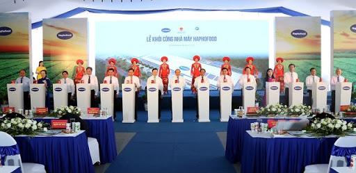 Công ty tổ chức lễ khởi công chuyên nghiệp tại Hải Phòng   Lễ khởi công nhà máy chế biến rau củ quả công nghệ cao tại Hải Phòng