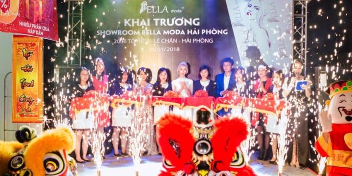 Công ty tổ chức lễ khai trương tại Hải Phòng |  Lễ Khai Trương Showroom Bella Moda