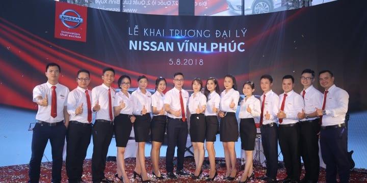 Công ty tổ chức lễ khai trương giá rẻ tại Vĩnh Phúc | Nissan Việt Nam khai trương đại lý 3S tại Vĩnh Phúc