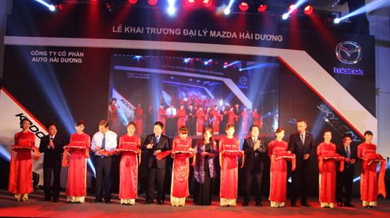 Công ty tổ chức lễ khai trương chuyên nghiệp tại Hải Dương | Lễ Khai Trương Showroom Mazda Hải Dương