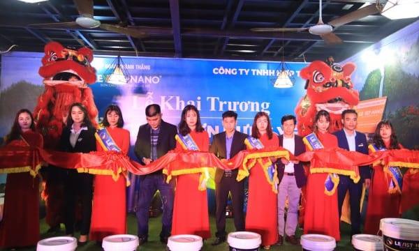 Công ty tổ chức lễ khai trương chuyên nghiệp tại Hưng Yên | Lễ Khai Trương Tổng Kho Sơn Levist – Nano Hưng Yên