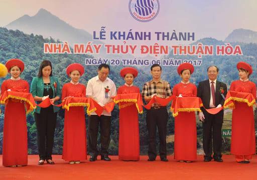 Công ty tổ chức lễ khánh thành tại Hà Giang | Lễ khánh thành Nhà máy Thủy điện Thuận Hòa