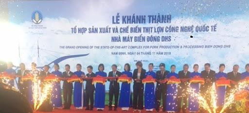 Công ty tổ chức lễ khánh thành tại Ninh Bình | Lễ khánh thành nhà máy Biển Đông DHS