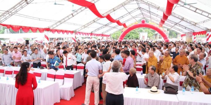 Công ty tổ chức lễ khởi công tại Ninh Bình | Lễ khởi công xây dựng nhà thờ họ Trương tại Ninh Bình