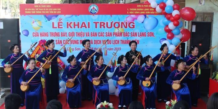 Công ty tổ chức lễ khai trương tại Lạng Sơn | Lễ Khai Trương Cửa Hàng Đặc Sản Lạng Sơn Và Dịch Vụ Du Lịch Thanh Niên
