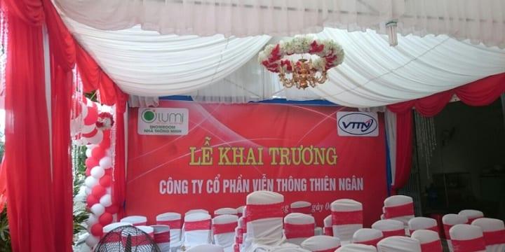Công ty tổ chức lễ khai trương giá rẻ tại Lạng Sơn | Lễ khai trương Showroom nhà thông minh Lumi