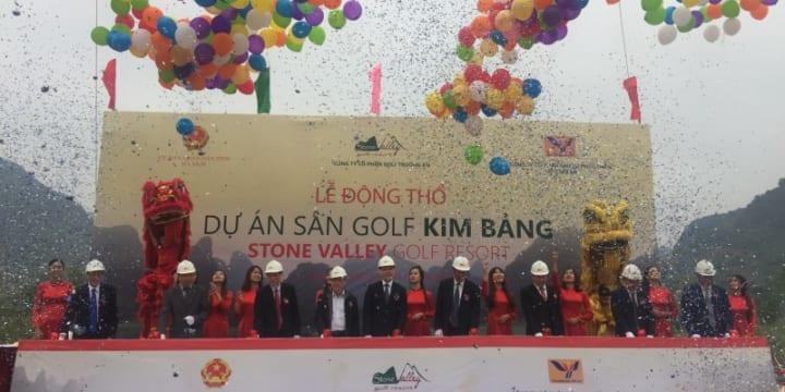 Công ty tổ chức lễ động thổ chuyên nghiệp tại Hà Nam | Lễ động thổ Dự án sân Golf Kim Bảng Hà Nam