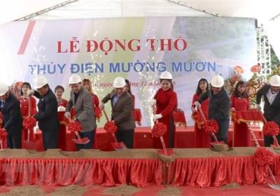 Công ty tổ chức lễ động thổ tại Điện Biên   Lễ động thổ Nhà máy thủy điện Mường Mươn