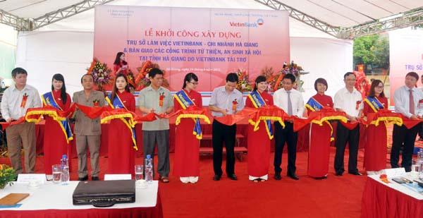 Công ty tổ chức lễ khởi công chuyên nghiệp tại Hà Giang | Lễ Khởi Công Dự Án Trụ Sở Ngân Hàng Vietinbank Chi Nhánh Hà Giang