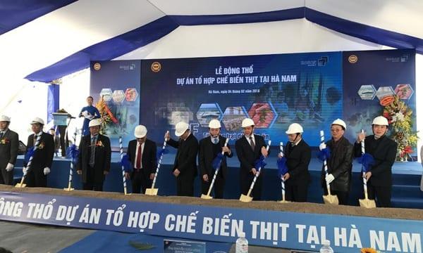 Công ty tổ chức lễ động thổ chuyên nghiệp tại Hà Nam | Lễ động thổ Dự án Tổ họp chế biến thịt Hà Nam