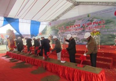 Công ty tổ chức lễ động thổ tại Sơn La   Lễ động thổ Nhà máy chế biến sản phẩm nông nghiệp SI