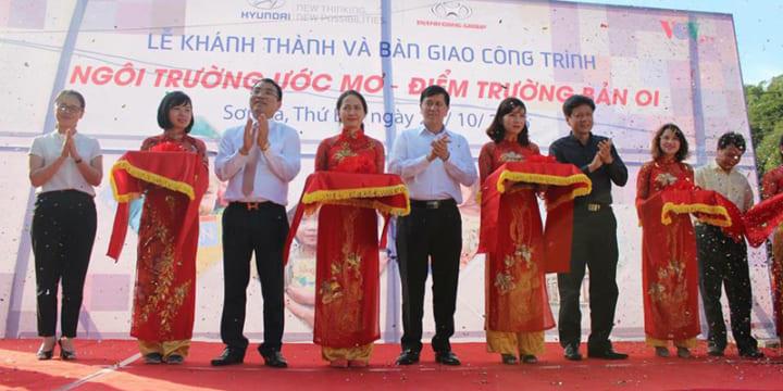 Công ty tổ chức lễ khánh thành giá rẻ tại Sơn La | Lễ khánh thành điểm trường mầm non ở Sơn La