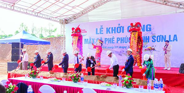 Công ty tổ chức lễ khởi công chuyên nghiệp tại Sơn La | Lễ khởi công xây dựng nhà máy cà phê Phúc Sinh Sơn La
