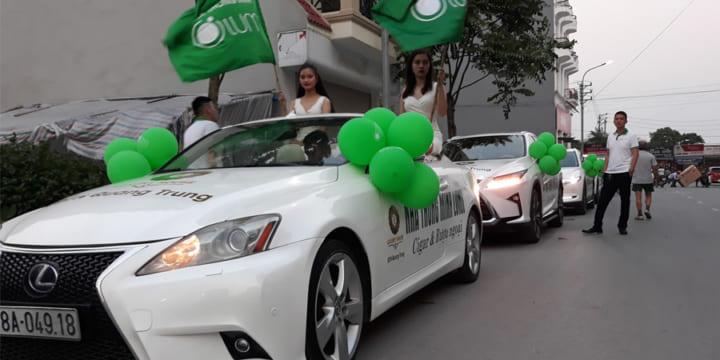 Công ty tổ chức lễ khai trương giá rẻ tại Nam Định | Lễ khai trương đại lý Lumi Việt Nam tại Nam Định